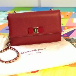 New authentic Salvatore Ferragamo handbag